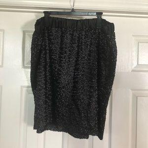 Lane Bryant Sequin Skirt